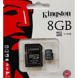 Kingston 8GB class4 SD Card