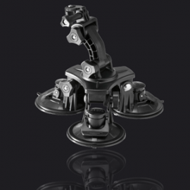VEHO MUVI Universal Professional 3 Cup Suction Mount