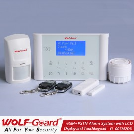 Wolf Guard M2DX WIT Draadloos alarm systeem