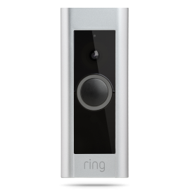 Ring Pro WIFI Deurbel met Camera,  Intercom, Gong