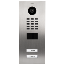 Doorbird Deurbel met Camera en Intercom D2102V, Stainless Steel