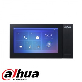 Dahua VTH2421F Video Intercom monitor Zwart