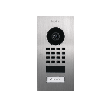 DoorBird D1101V Video Deurbel met Intercom , Inpbouw uitv.