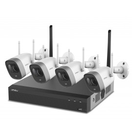 IMOU Wireless 2 MP  IP Camera (4) Set inc NVR met HDD