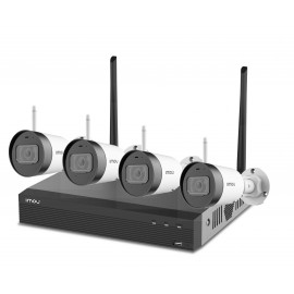 IMOU Wireless 2 MP  IP Camera Light (4) Set inc NVR met HDD