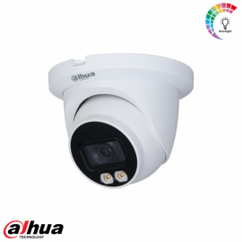 Dahua 4MP Lite AI Full-color Warm wit licht LED Eyeball Network Camera 2.8mm