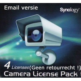 Synology Camera License (4x) Email Versie