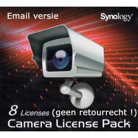 Synology Camera License (8x) Email Versie