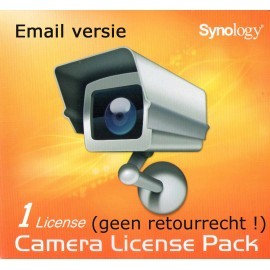 Synology 1 Cam License Pack Email Versie