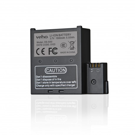 VEHO MUVI 1500mAh spare battery K-Series