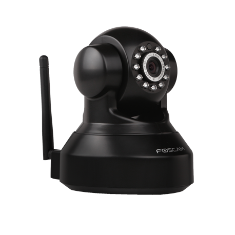 Foscam FI9816W HD IP Camera met WIFI Zwart